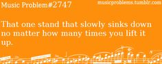 or in the case of 12th avenue stands, that one stand that would rises up while you tried to play....