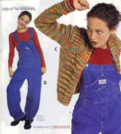 Overalls. Good god, overalls. | 16 Things Teen Girls Wore In The Winter Of 1996