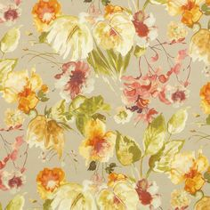 Pattern #42362 - 547 | Fontana Print Collection | Duralee Fabric by Duralee