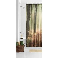 Nicholas Mainstays Trailblazer Fabric Shower Curtain