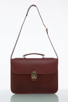 Cathy Prendergast Irish Designer Leather Handbags - Oscar Briefcase   Tan Leather Briefcase Leather Briefcase, Leather Bags, Tan Leather, Designer Leather Handbags, Cool Tools, Leather Accessories, Men's Collection, Irish, Fashion