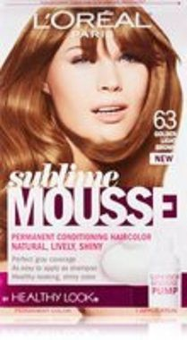 Sublime mousse 500 castanho natural hair color pinterest loreal healthy look sublime mousse hair color 63 golden light brown altavistaventures Choice Image
