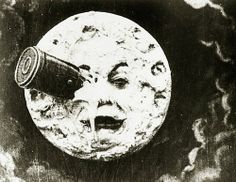 Film still from A Trip to the Moon (Le Voyage dans la lune) by Georges Méliès, 1902. MoMA