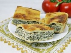 You will find here various recipes mainly traditional Romanian and Mediterranean, but also from all around the world. Spanakopita, Quiche, Healthy Recipes, Healthy Food, Food And Drink, Pie, Sweets, Vegan, Breakfast