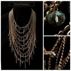 Marcielli Rodrigues | #Colar #Necklace #Swag #Moda #Mulher #Feminino #2014…