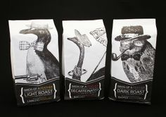 HUSTLEBUSTLE COFFEEHOUSE: love this coffee packaging - Hillary White PD