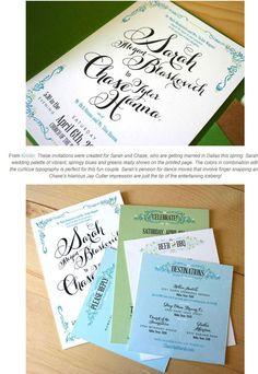 オリジナルデザインの参考に♪招待状&カード | Weddingcard.jp