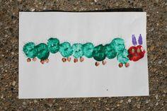 Caterpillar Fruit Stamps - Off the Shelf