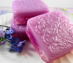 Soap  French Lilac Soap Made with Goats Milk  by SoapGarden
