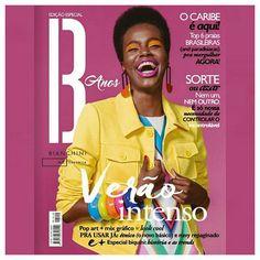 Pop art + mix gráfico foi inspiração dos looks da edição deste mês da @revista_be Capa com a top @camilasimoesp🔸acesse nosso link na bio e veja a revista completa! #revistabe #cliquefashionoficial #revistamoda #instamoda #instafashion #fashion #moda #modasorocaba