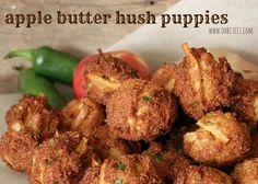 Apple butter hush puppies