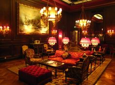 Step into the 19th Century at the Tea room hotel sacher vienna