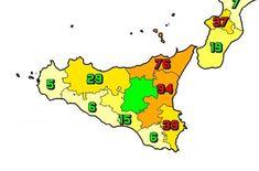 Il 14 ottobre in Sicilia il totale delle persone che hanno contratto il virus è di 302.736 (+270) (6 Agrigento, 15 Caltanissetta, 94 Catania, 0 Enna, 76 Messina, 29 Palermo, 6 Ragusa, 39 Siracusa, 5 Trapani). I tamponi effettuati 11.493, tasso di positività 2.3%. Il totale dei deceduti è 6.921 (+6). Il numero complessivo dei guariti è 287.045 (+783). Il numero totale di attualmente positivi è di 8.770 #contagi #Coronavirus #decessi #nuovi #Sicilia