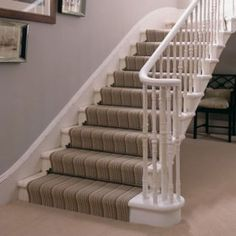 Replacing carpet with a stair runner | Carpet advice | Carpets | Celia Rufey answers your tricky carpet questions | PHOTO GALLERY | Homes & Gardens | Housetohome