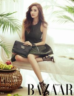 Han Chae Young - Harper's Bazaar Magazine March Issue 2014