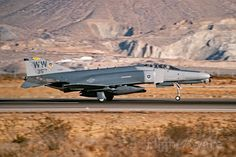 FlightAware Aviation Photos: Shot at George AFB back in Dec. Wild Weasel landing on runway KVCV Us Military Aircraft, Military Weapons, Fighter Aircraft, Fighter Jets, Post War Era, F4 Phantom, Great Shots, Air Force, Helicopters