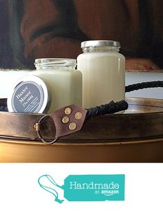 Leather Candle - 11oz from Baxter Manor http://www.amazon.com/dp/B018A279WG/ref=hnd_sw_r_pi_dp_y.Jkxb0DFTQMN #handmadeatamazon