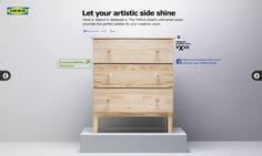 I'd do some kind of Around the World theme to match my bedroom. Let your artistic side shine. Stencil it. Bedazzle it. The TARVA chest's unfinished wood provides the perfect palette for your creative vision. E Room, Dorm Room, Diy Furniture Restoration, Ikea Usa, Ikea Home, Safe Haven, Hello Autumn, Unfinished Wood, Autumn Inspiration