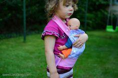 Puppentrage Ida, Tragehilfe für Puppen