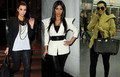 kim Kardashian en cuero