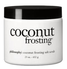 Philosophy Coconut Frosting Salt Scrub, 23 Ounce $22.41 #bestseller