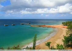 Crashboat Beach, Puerto Rico. Surf trip in May for my bday.