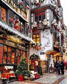 A real-life Christmas Village Strasbourg, France transforms into a real life Christmas village. I have been to Strasbourg before, but never during Christmas. I now have to put it… The post A real-life Christmas Village appeared first on Belle Ouellette. Oh The Places You'll Go, Places To Travel, Places To Visit, Travel Destinations, Best Family Vacation Destinations, Christmas Destinations, Italy Vacation, Vacation Spots, Christmas Mood