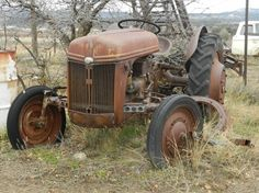 Old tractor I photographed