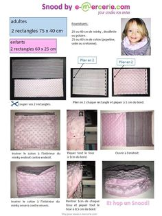 Snood adulte ou enfant Tuto gratuit #snood                                                                                                                                                      Plus