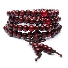 Vintage Multilayer Sandalwood Buddhist Buddha Prayer Beads Bracelet for Men Women Bead Jewellery, Beaded Jewelry, Beaded Bracelets, Bangles, Necklaces, Chain Jewelry, Charm Bracelets, Gold Jewelry, Buddha Beads