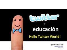 Usos de twitter en educación #REDucacion by @sanbelcanovas