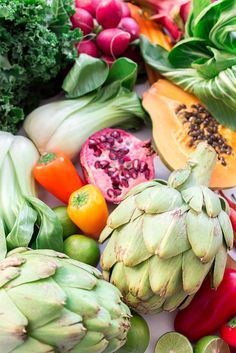 Mother Nature provides a wonderful variety of #fruits and #vegetables for our health and well-being.