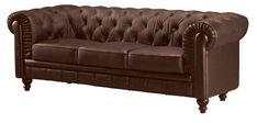 Brown Duke Sofa - lounge seating area