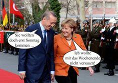 Kanzlerin bei Erdogan: Merkel zieht Besuch vor