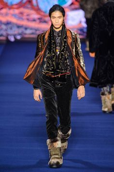 Etro Fall 2013 Menswear Collection