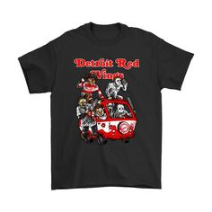 Buy yours The Killers Club Detroit Red Wings Horror NHL Hockey Shirts now today at NFL T-Shirts Store ! Nfl T Shirts, Hockey Shirts, Ice Hockey Teams, Halloween Fashion, Montreal Canadiens, Detroit Red Wings, Nhl, Shirt Style, Jason Voorhees