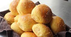 Sweet potato burger buns