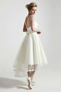if I were to wear a short wedding dress...