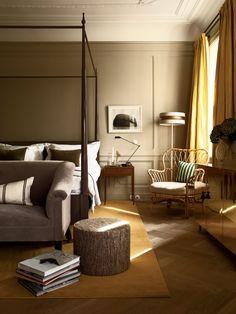 22 Beautiful Bedroom Color Schemes: Ett Hem Hotel Stockholm By Studio Ilse. Home Bedroom, Bedroom Decor, Bedroom Chair, Bedroom Photos, Master Bedroom, Bedroom Ideas, Modern Bedroom, Upstairs Bedroom, Bedroom Designs