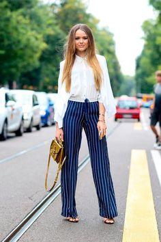 Street Style Looks from Milan Fashion Week