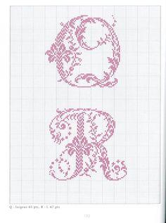 Gallery.ru / Фото #62 - Belles lettres au point de croix - logopedd