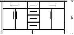Countertop Height Range : ... height vanity height countertop height vanity countertop forward
