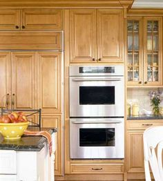 I would absolutely love a double oven in my dream home because I love to cook. I can tell you how frustrating it is to have two food items that need to go into the oven but at different temperatures and for different lengths of time and not having the proper means to cook them at the same time!