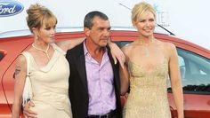 Gala Starlite. Melanie Griffith, Antonio Banderas y Valeria Mazza