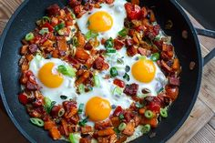 This egg skillet with chorizo and sweet potatoes is a perfect dish for weekend breakfast or brunch, or as a quick weeknight dinner. It's inspired by my travel through Spain, where eggs are often served over fried potatoes with either jamon or chorizo. Paleo Breakfast, Breakfast Recipes, Sunday Breakfast, Breakfast Dishes, Clean Eating, Healthy Eating, Healthy Kids, Eating Well, Egg Skillet