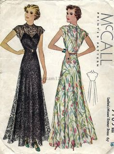 1930's fashion pictures - Google Search