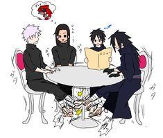 Tobirama vs Madara under the table XD Anime Naruto, Madara Vs Hashirama, Naruto Sasuke Sakura, Naruto Comic, Naruto Cute, Naruto Shippuden Sasuke, Naruto Girls, Otaku Anime, Manga Anime
