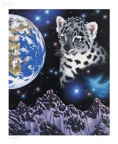 My Sister's Himalayan Home by Schim Schimmel - Serigraph on Paper Pet Tiger, Tiger Art, Big Cats Art, Cat Art, Beautiful Cats, Animals Beautiful, Lion Tigre, Baby Animal Drawings, Animal Art Prints
