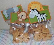 Baby Shower Favors Safari Treat Bags 70 New Ideas Safari Party, Jungle Theme Parties, Jungle Party, Safari Theme, Circus Party, Baby Shower Favors, Shower Party, Baby Shower Parties, Baby Shower Themes
