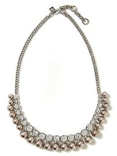 Pearl Fringe Necklace | Banana Republic   $50
